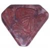 30x35mm Mahogany Triangle Semi-Precious